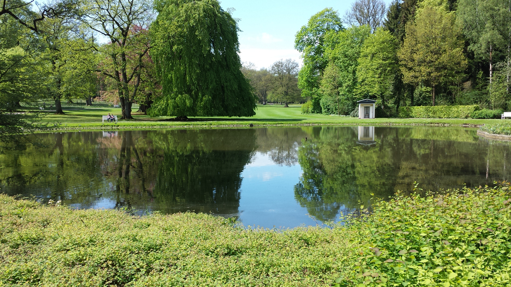 Frühling im Gräflichen Park in Bad Driburg, 15. Mai 2017