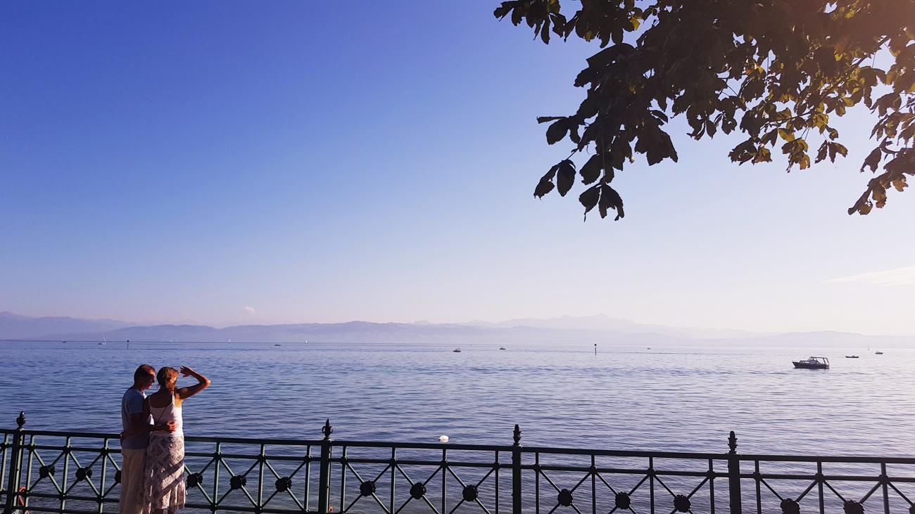 Verträumte Blicke in die warme Abendsonne, 12. September 2018