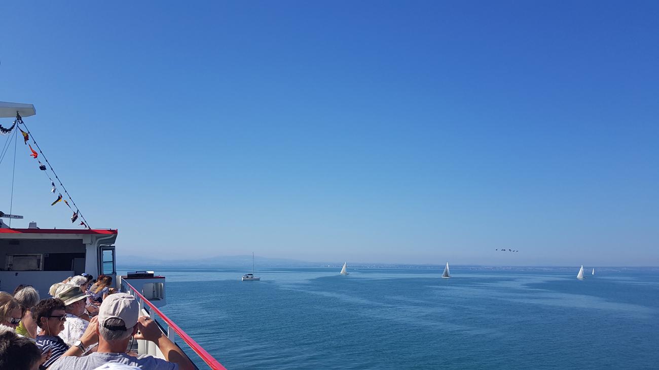 Blick auf den See, 24. Juli 2018