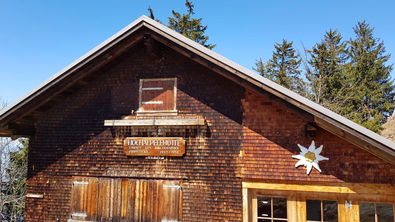 Hochälpele-Hütte, 18. April 2019