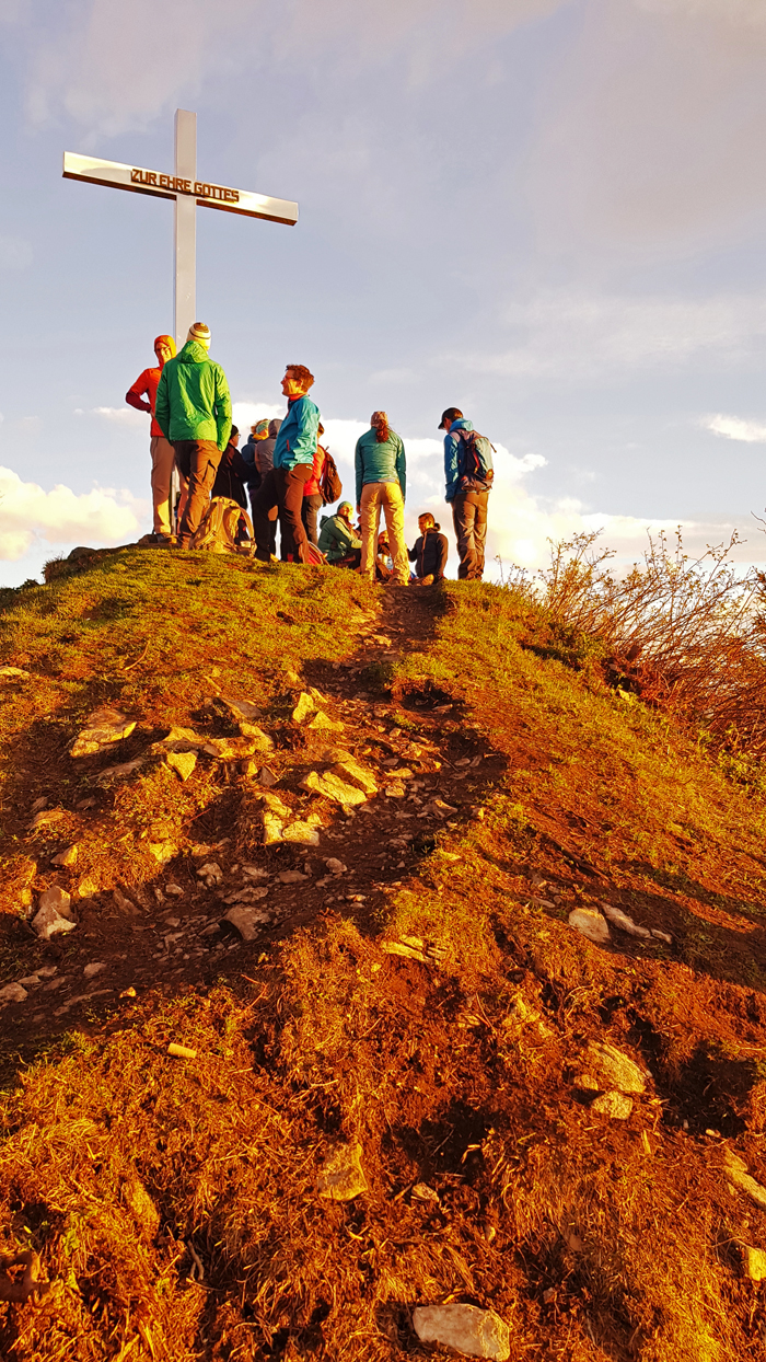 Gipfel-Blick, 25. April 2019