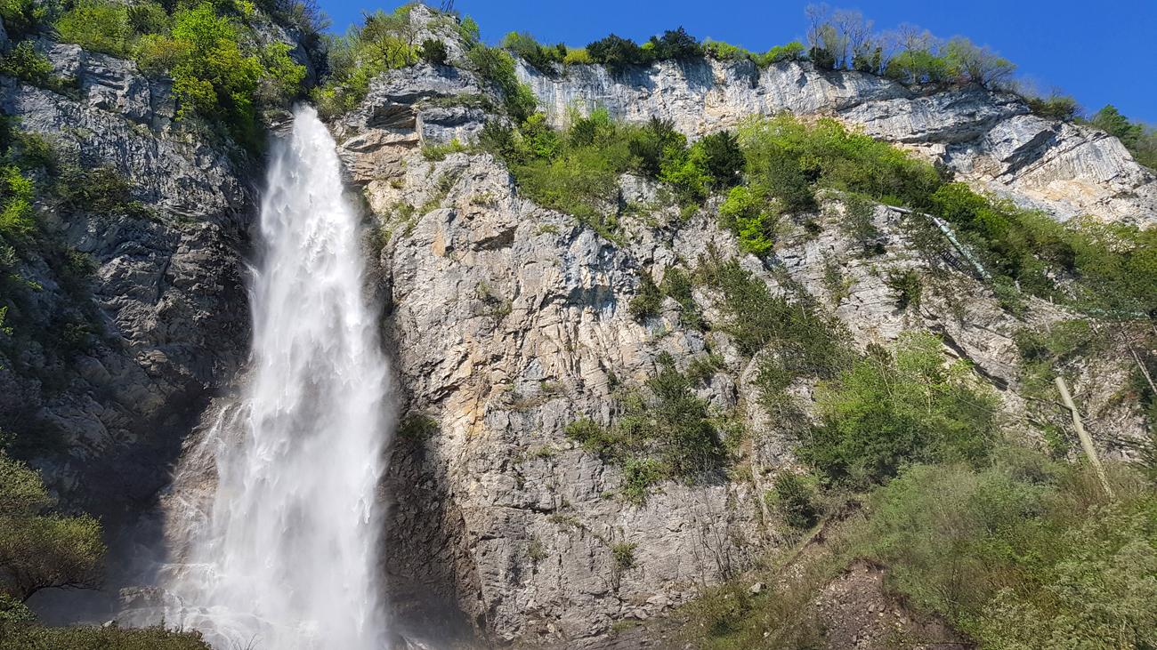 Auf dem Weg zum Seerenbachwasserfall, 1. Mai 2019