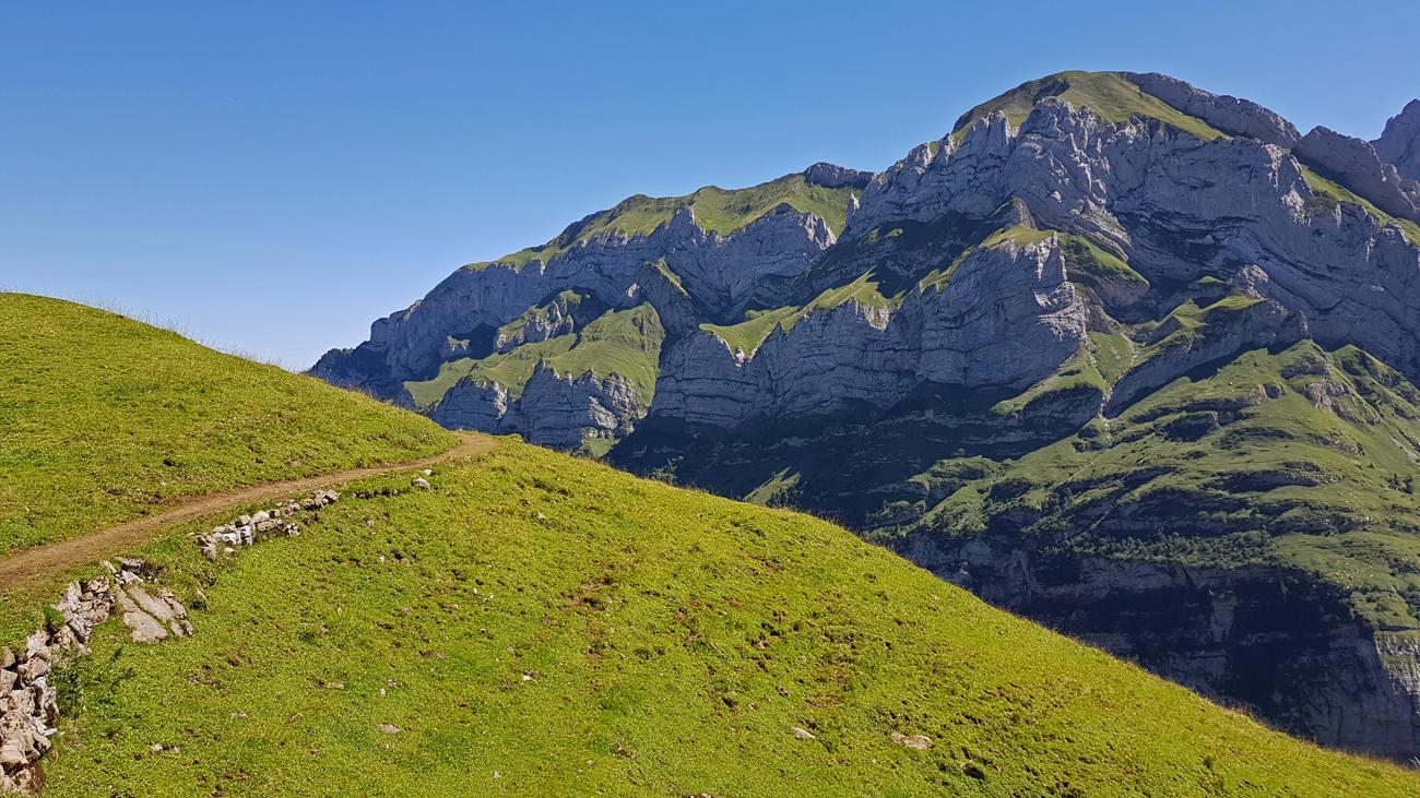 Rückweg zum Wildkirchli, 18. August 2019