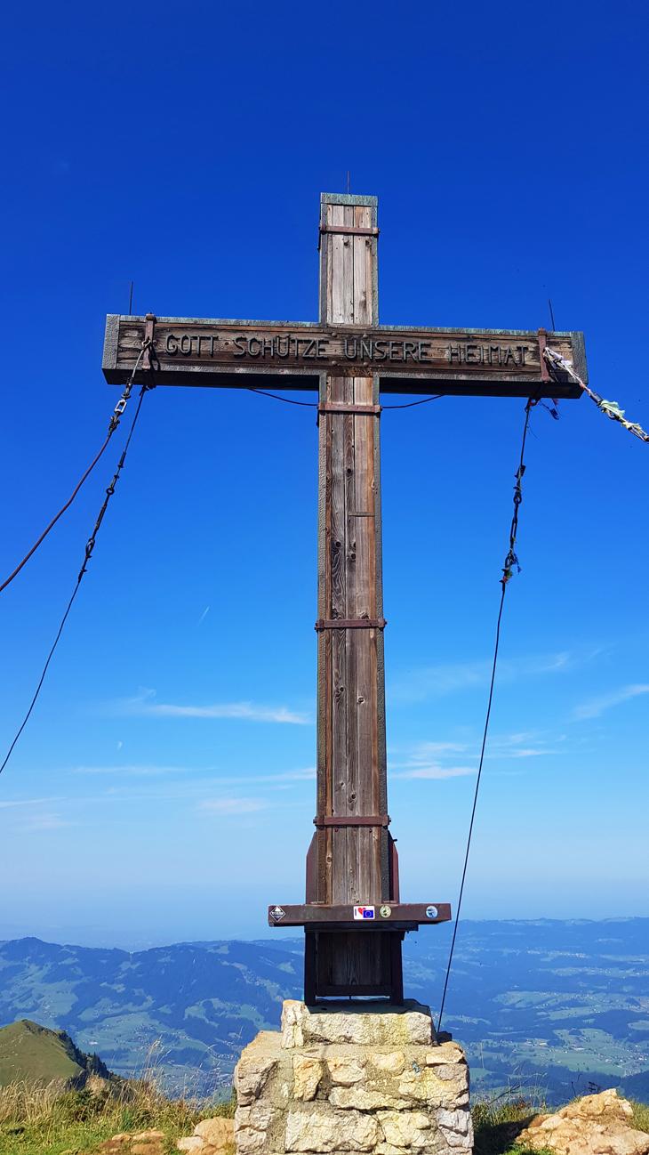 Gipfelkreuz, 31. August 2019