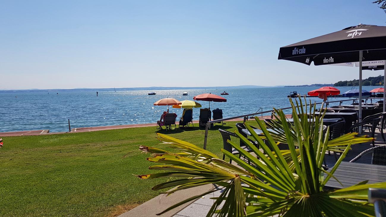 Im Strandbad Friedrichshafen, 4. Juli 2019
